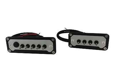 PRP-9101 5 Switch Panel Billet LED Lighted Fused Universal Wiring