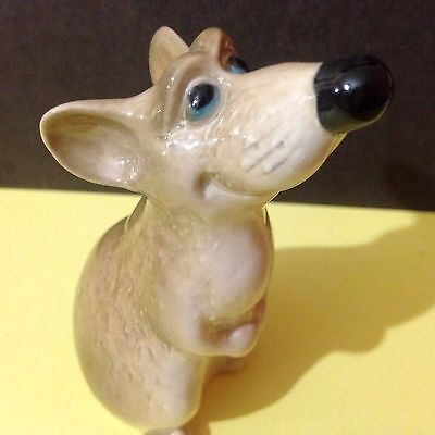 Rats Mice porcelain handmade figurines Souvenirs from Russia