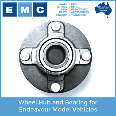 Wheel Hub and Bearing for Low Speed Vehicles