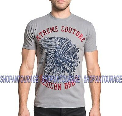 Xtreme Couture American Brave X1698 Men`s Short Sleeve MMA T-shirt By Affliction