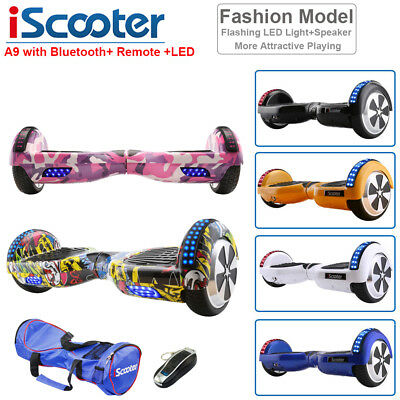 """6.5"""" Elektro-Scooter OVERBOARD Self Balancing Scooter Hoveroard Bluetooth+Remote"""