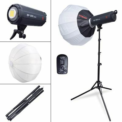 Jinbei EF-200 Studio Video LED Light + Jinbei 65cm 25'' Spherical Softbox +TRS-V