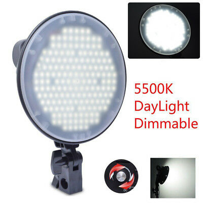 Fotoconic 45W 5500K DayLight 126 LED Dimmable Studio Photo Video Light Lamp Head
