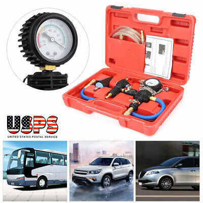 Universal Cooling System Vacuum Purge And Refill Car Van For Radiator Kit w/Case