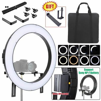 Fotoconic DVR-160TVC 20'' / 50cm Li-ion Battery Powered Dimmable LED Ring Light