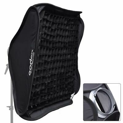 "Godox 80x80cm / 32x32"" Honeycomb Grid Foldable Softbox Elinchrom for Strobe"