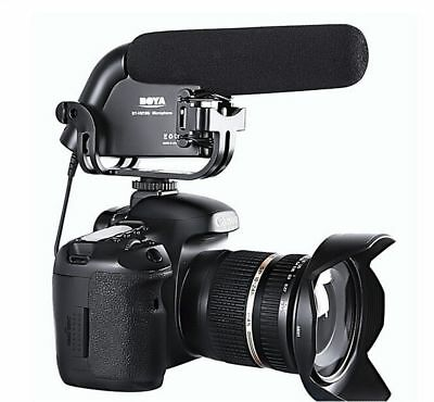 BOYA BY-VM190 Stereo Video Microphone for Canon Nikon DSLR Camera Audio Recorder