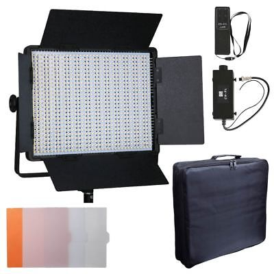 CN-900SA 900 LED Sony V-Lock Dimmer Video Light Panel + Remote Controller + Bag