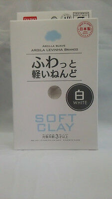 DAISO JAPAN DIY Soft Clay White  Made in   JAPAN  F/Shipping