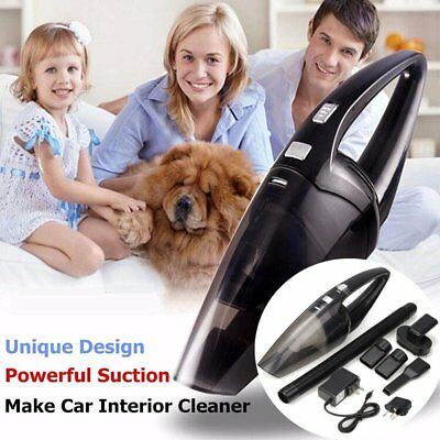Mini Portable Vacuum Cleaner For Car Dry Wet Dust Dirt Cordless Handheld Hand AU