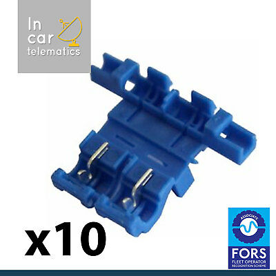 10 x Snap Lock Fuse Holder Add a Circuit Inline Splice Scotchlock Type