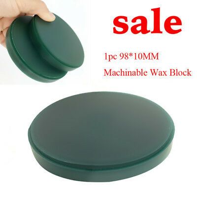 Dentist Machinable Wax Block Milling for Dental CAD/CAM System 98*10MM Clinic CE