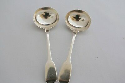 George III Sauce Ladles by Robert Hennell 1828