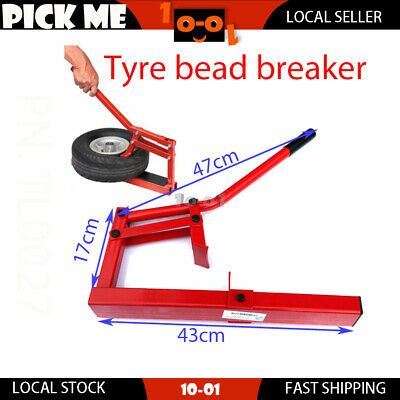 Motorcycle Tyre Bead Breaker Motorbike Tyre Changer  Easy Fitting & Removal New