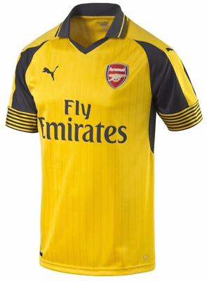 Official Puma 2016/17 Arsenal FC Junior Boys Away Football Kit Shirt Gunners
