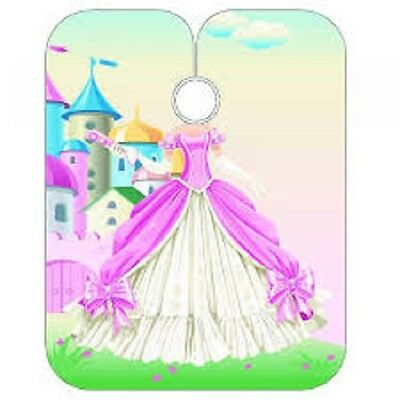 Sibel Kids GIRLS Cape - PRINCESS - Childrens Cutting Gown Hairdressing Barbering