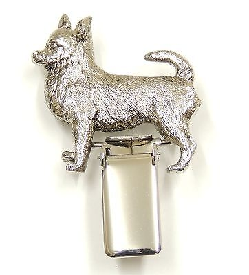Chihuahua Short Hair  Show Ring Clip/Number Holder