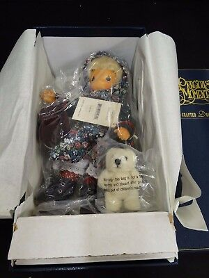 Precious Moments Wood Hand Crafted Musical ~ NATASHA ~ Ltd Ed 352/1000 ~ NIB