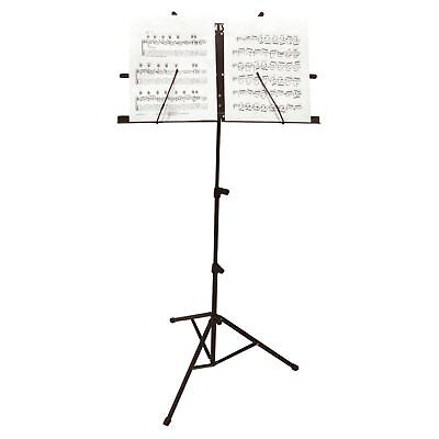 Foldable Portable Heavy Duty Music Stand Orchestral Conductor Sheet Holder Base