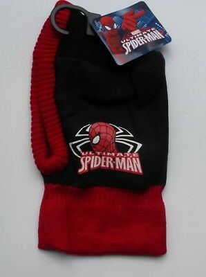 Childrens Marvel Spiderman Balaclava Approx Age 4 - 8 years New