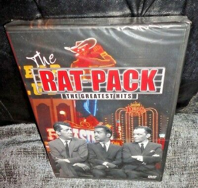 The Rat Pack The Greatest Hits (DVD, 2004) SEALED