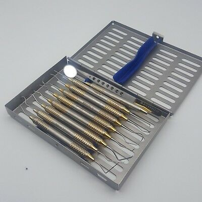 Dental Hygienists Instruments Tool - With cassette - stainless steel - CE
