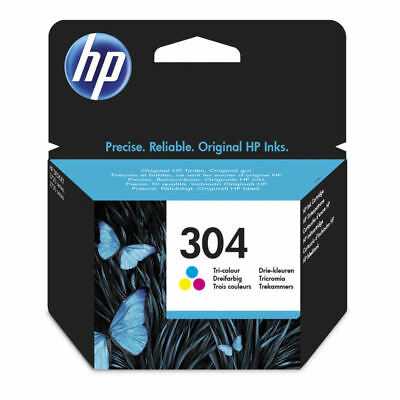 Original HP 304 Colour Ink Cartridge For Deskjet 2630 Inkjet Printer