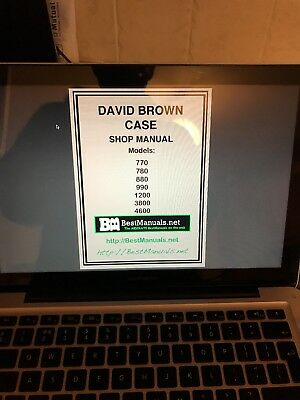 David Brown Digital Manual 770, 780, 880, 990, 1200, 3800, 4600