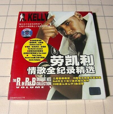 R. Kelly - The R In R&B Greatest Hits Collection Vol. 1 CHINA CD+Bonus NEW #110