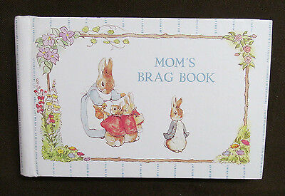 BEATRIX POTTER PETER RABBIT Photo Album MOM'S BRAG BOOK Vintage 1990 GIBSON