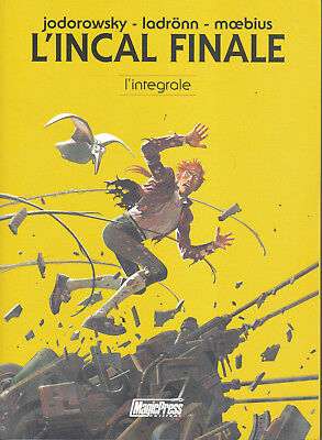 L'INCAL FINALE - L'INTEGRALE (Jodorowsky-Moebius) SCONTO 20% -ed. Magic Press
