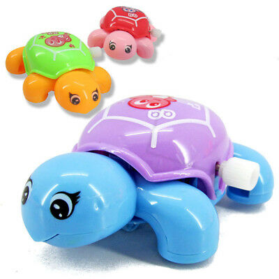 Tortoise For Baby Kids Educational Toys Small Turtles Crawling Wind Up Toy