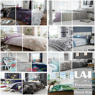 Duvet Cover Bedding Set with Pillow Case Quilt Cover Set Single Double King