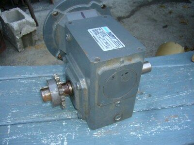 Morse Steel  Gearbox Reducer 20:1 Ratio Double Output Shaft 1 Inch Diameter