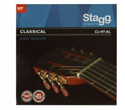 STAGG CL-HT-AL Saitensatz  für Klassik-Gitarre High Tension Angel Lopez