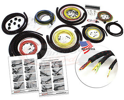 Hot Rod Wire Kit Vintage Design Cloth Automotive Wiring Car or Truck USA