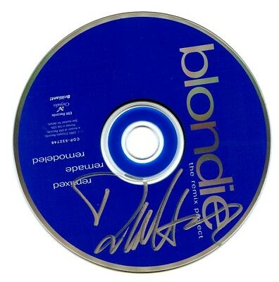 DEBORAH HARRY Autographed CD - BLONDIE