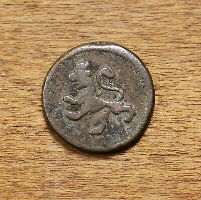Raw 1799 Colombia 1/4 Real Lion Castle Silver Colombian