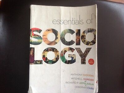 Essentials of sociology by anthony giddens 1395 picclick essentials of sociology by anthony giddens deborah carr mitchell duneier fandeluxe Choice Image