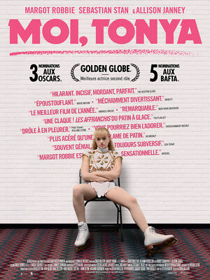 Moi, tonya - Affiche cinema 40X60 - 120x160 Movie Poster