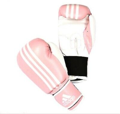 Ladies Pink Adidas Boxing Gloves new
