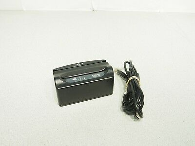 E-Seek Model 250 USB ID Card Magstripe Reader Tested W/ Cable