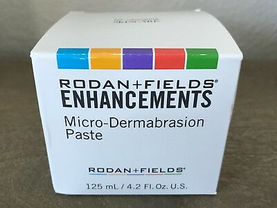 Rodan and Fields ENHANCEMENTS MicroDermabrasion Paste Jar 4.2 fl oz NEW & SEALED