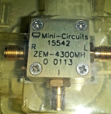 Mini-Circuits ZEM-4300MH 300-4300 MHz, SMA (F) Coaxial level 7 Frequency Mixer.