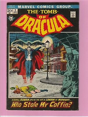 The Tomb of Dracula #2 RARE!, Not many available!