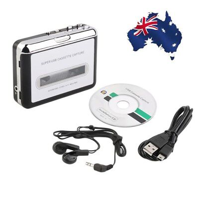 Tape to PC USB Cassette & MP3 CD Converter Capture Digital Audio Music Player OC