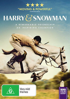 Harry and Snowman DVD - Horse Riding  (2015) -  Brand New & Sealed Aussie Stock