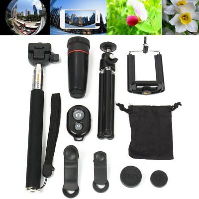 All in 1 Accessories Phone Camera Lens Top Travel Kit For Mobile Phone LOT CO