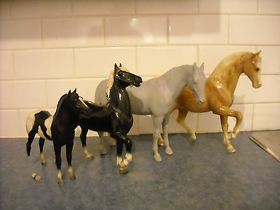 Vintage Breyer Body Lot Custom Palomino Arabian Thoroughbred Stock Foal Hartland