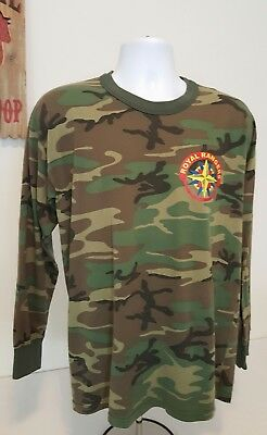 Royal Rangers CAMO Long Sleeve pullover Shirt  Expedition rangers.
